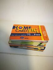 Big Lot Of Calling Cards Phone Cards From All Over The World Over 90 Cards