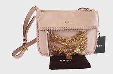 ** DKNY Soft Pink Leather Crossbody Bag Msrp $298.00