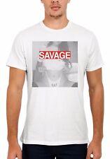 Sexy Savage Hot Eat Girl Lady Men Women Vest Tank Top Unisex T Shirt 1521