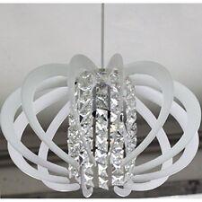 Lampadario Moderno In Cristallo E Plexiglass Vari Colori 1 Luce Design Soggiorno