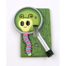 nEw Bugs Insect Lightswitch Plates Girls Caterpillar Bathroom Switch Plate