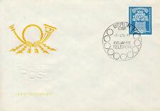 Ersttagsbrief DDR MiNr. 2118, 100 Jahre Telefon
