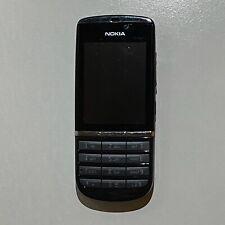 "Nokia Asha 300 2.4"" 3G - Black - Working Condition - Unlocked"