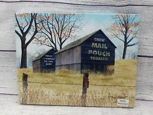 """Treat Yourself by Billy Jacobs, Canvas Picture, 8""""x10"""", Mail Pouch Tobacco Barn"""