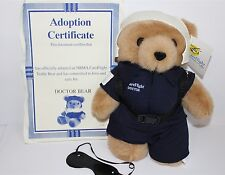 "Care Flight Rescue Doctor Bear Plush Soft Toy 12"" Careflight"