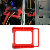 "2.5"" SSD HDD To 3.5"" Hard Drive Bay Metal Mounting Kit Adapter Converter Bracket"