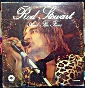 ROD STEWART & THE FACES Self-Titled Album Released 1979 Vinyl Collection