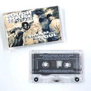 ROUGH HOUSE SURVIVERS Straight From The Soul Cassette Tape Rap Hip-Hop Rare