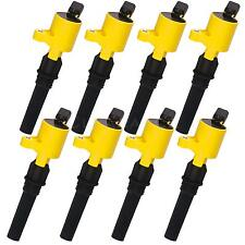 8Pack Yellow Ignition Coil DG508 DG-508 for Ford Crown Victoria 4.6L V8 98-2011