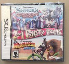 NEW DS, DSI, DS, 2DS Game Works in 3DS      2 IN 1 SHREK & MADAGASCAR MAKE OFFER