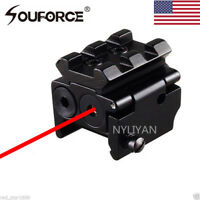 Mini Red Dot Laser Sight Navigation 20mm rail Mount for Rifle Pistol gun Hunting