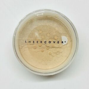 Sheer Cover Mineral Foundation SPF 15 BUFF 4g New In Sealed Container Ships Free