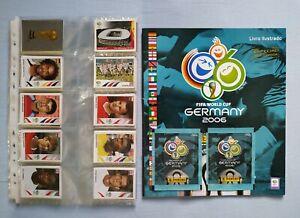PANINI World Cup 2006  Full Set / Empty Album  Brazil Edition  + 2x Packets