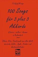 100 Songs für 3 plus 3 Akkorde - Frithjof Krepp - 9783928825290 PORTOFREI