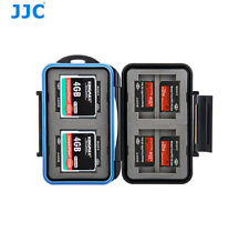 Water-resistant Memory Card Case Holder for 4 CF + 8 Memory Stick Pro Duo Cards