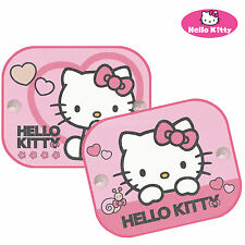 Hello Kitty UV  Blinds Car Windows Sun Shades  Kids Baby Children Twin Pack