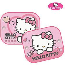 Hello Kitty Uv Persianas Ventanas de coche Sombrillas Niños Bebé Niños Twin Pack