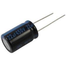 2 Elko Kondensator radial Jamicon TK 22uF 450V 105°C 856897