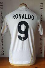 Nº9 Ronaldo Real Madrid 09-10 Camiseta Futbol Kids Adidas Shirt Trikot Maglia