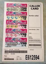 """""""Lucky Charmz"""" Pull Tab Ticket $54 Profit 184 Count $130 Payout Bingo Event Game"""