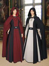 Medieval Gown Renaissance Maiden Dress Handmade Natural Cotton Medallion