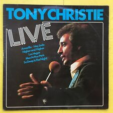 TONY CHRISTIE - Live - mcf-2703 ex-condition Vinyle LP - Avenues & Alleyways