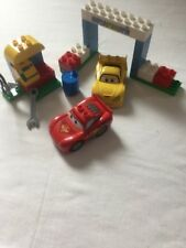 Lego Duplo Disney Cars Race Day 6133 100% Completo-Sin Caja Set