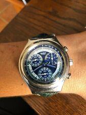 Reloj Swatch Swiss con cronómetro para hombre CORREA- AZUL-VERDE