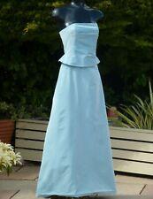 Monsoon Blue Strapless Maxi Dress & Top Size 08 10 Wedding BridesmaidPROM Ball