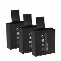 3x battery for Rollei Actioncam 220, 300, 300 Plus 310 330, 372, 415, 416 SJ4000