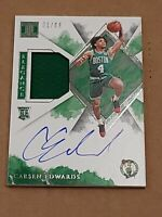 2019 Impeccable Elegance Carsen Edwards Auto RC RPA /99 Rookie Autograph Patch