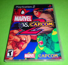 EMPTY REPLACEMENT CASE - Marvel vs. Capcom 2 Sony PlayStation 2 PS2 PS3