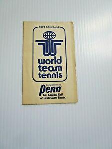 1977 WTT World Team Tennis Professional Tennis CHRIS EVERT, BJORN BORG & CASALS