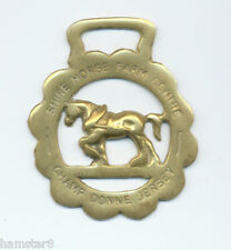 SHIRE HORSE FARM CENTRE - CHAMP DONNE JERSEY  horse brass  (5210)