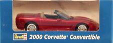 Revell 1:25 2000 Corvette Convertible Chevrolet Gray Red Built Model #0915