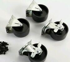 "Craftsman 27819 Tool Chest Caster Set Genuine OEM part 4"" Swivel 2-Locking"