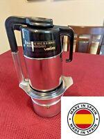 Vintage Valira Stovetop Espresso Maker 9 cup W/ Detachable carafe~ Made in Spain