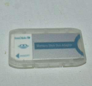 SanDisk Memory Stick Duo Adapter Adaptor 20-90-00125 with case