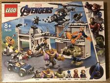 LEGO Marvel AVENGERS COMPOUND BATTLE Set 76131 inc Thanos & Hulk Minifigures