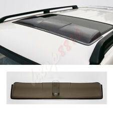 For 10-18 Year Toyota Prado 2700 Skylight Visor Rain Sun Guards Shade W/ Toyota