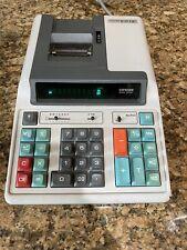 Citizen 107 DP Printing Calculator Electronics Lot Paper Roll Rare Vintage