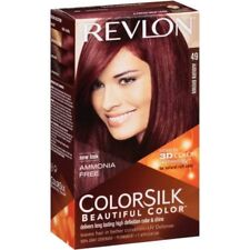 Revlon Colorsilk Haircolor - 49 Auburn Brown  (3 PACK)
