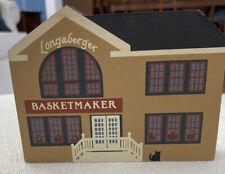 Longaberger The Cat's Meow Wooden Shelf Sitter Basketmaker Dated 1991�🧺