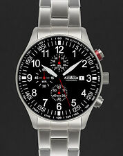 ASTROAVIA XL AIR CRAFT 20E NEW EDITION 6 ZEIGER CHRONOGRAPH 44mm FLIEGERUHR N57S
