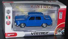 "Renault R8 ""Bleu rayures Blanche"" Vintage 1/43 MONDO MOTORS"