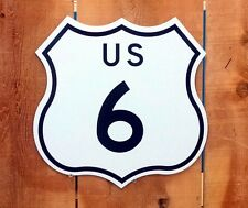 """Route 6 Interstate Highway Sign - 15""""x15"""""""
