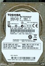 TOSHIBA 750GB MK7559GSXF  HDD2J60 P TM01 T