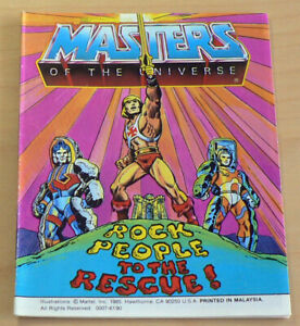 He-Man, Masters of the Universe Mini Comic: Rock People to the Rescue!