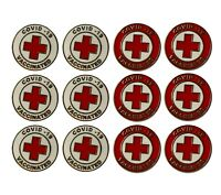 Vaccinated Enamel Lapel Pin vaxed 2021 lab coat jacket backpack brooch vaccine