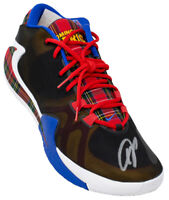 Giannis Antetokounmpo Signed Left Nike Coming to America Shoe BAS ITP